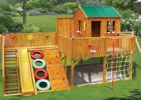 backyard playscapes playscape outdoor fun pinterest