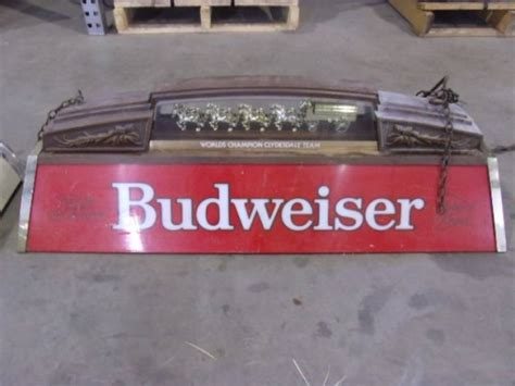 Budweiser Pool Table Lights by Budweiser Pool Table Light Coors Sign
