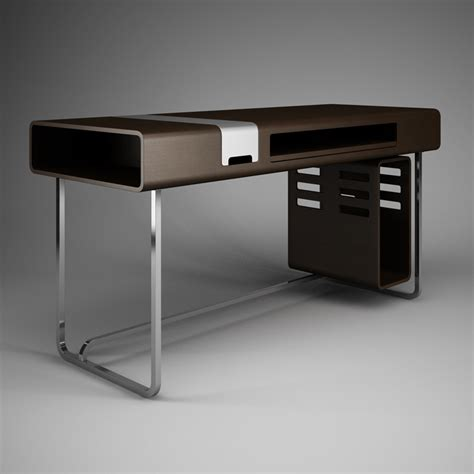Office Desks Contemporary Contemporary Office Desk 38 Cgaxis 3d Models