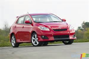 2010 Toyota Matrix Reviews List Of Car And Truck Pictures And Auto123