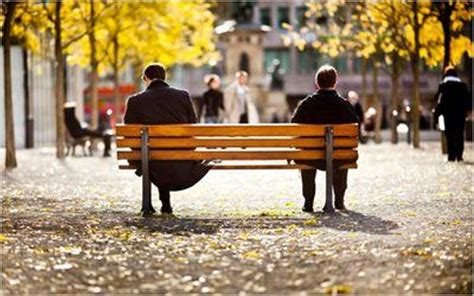 bench for two two men on a bench twomenonabench twitter