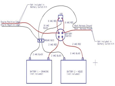 voltage sensitive relay boat wiring easy to install
