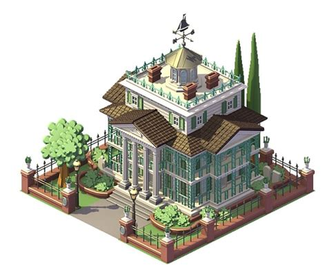 Disney Png Haunted Mansion Floor Plan - disney icons come to playdom social city the disney
