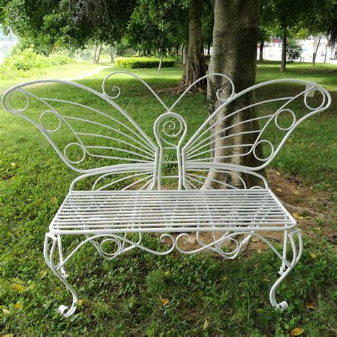butterfly benches metal butterfly metal garden bench metal garden benches and