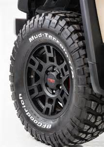 Toyota Trd Rims Quot Trd Midnight Black Beadlock Style Rims On Fj S At 12