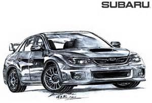 Subaru Drawing Subaru Impreza Wrx Sti By Toyonda On Deviantart