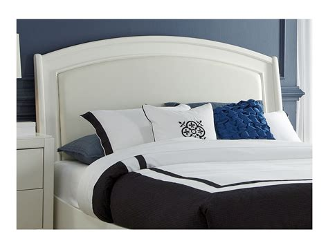 white king headboards steinhafels brennan white king headboard