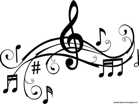 musica clipart notes clipart black and white clipart panda free