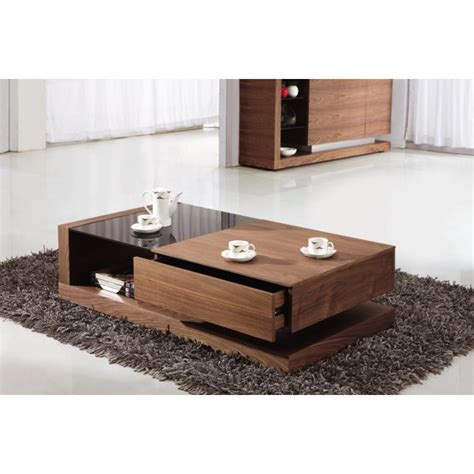 Glass Storage Coffee Table Giomani Designs Alpha Black Glass And Walnut Storage Coffee Table Giomani Designs From