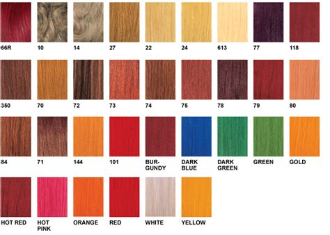 xpression braiding hair color chart xpressions hair color chart