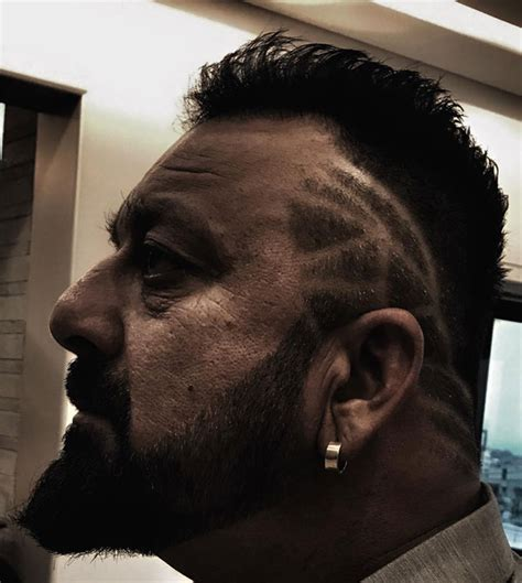 mobster hairstyles sanjay dutt gets a new hairdo for saheb biwi aur gangster