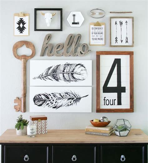 make your home beautiful with accessories composition murale frenchy fancy