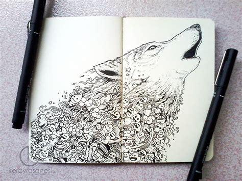 best pen for doodle impressively detailed pen doodles by kerby rosanes bored