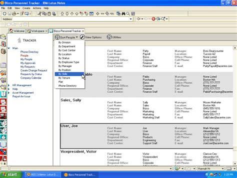 ibm employee help desk free program lotus notes database software