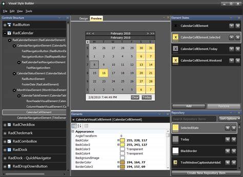 best ui pattern for winforms visual style builder telerik ui for winforms telerik
