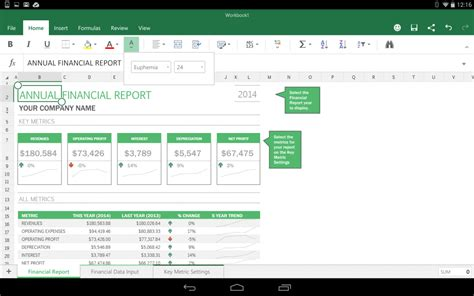 excel for android preview office for android tablets is like office for but on android ars technica