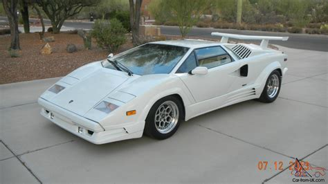 1989 Lamborghini For Sale 1989 Lamborghini Countach 25th Anniversary