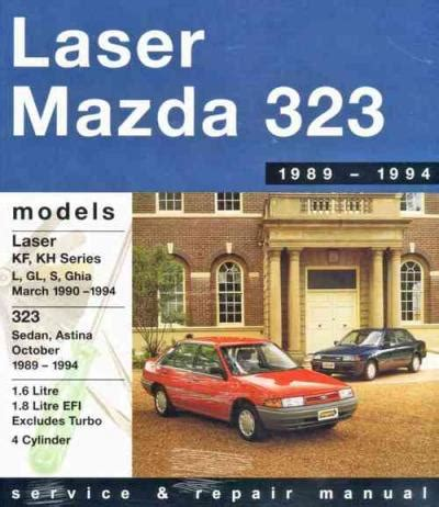 what is the best auto repair manual 1994 ford e series parking system ford laser mazda 323 astina 1989 1994 gregorys service repair manual sagin workshop car