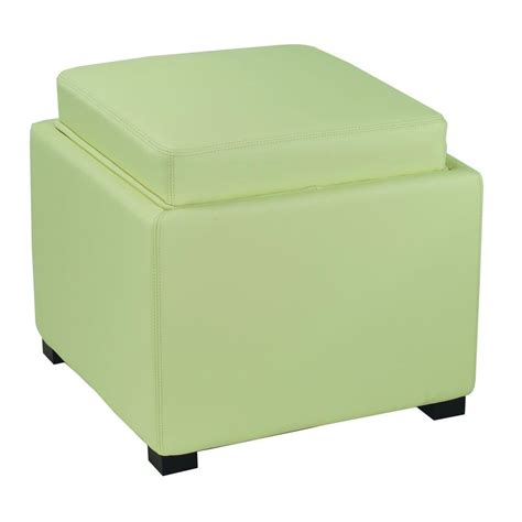 White Ottoman Storage Safavieh Rickey White Storage Ottoman Hud4006d The Home Depot