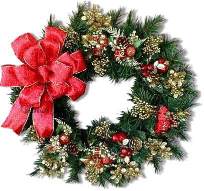 desain lu natal christmas wreaths animated gifs yılbaşı 199 elenkleri