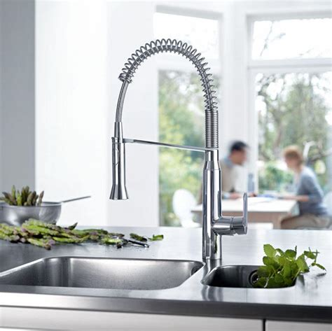 K7 Medium Semi Pro Single Handle Standard Kitchen Faucet   Touch On Kitchen Sink Faucets