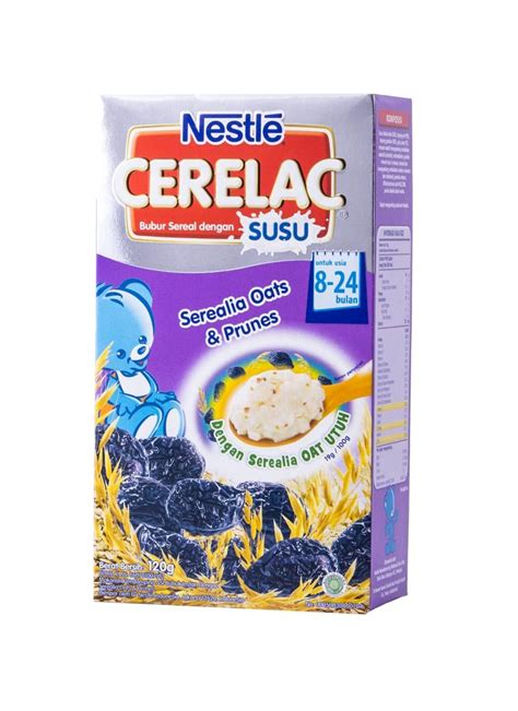 Cerelac Bubur Bayi nestle bubur bayi cerelac serealia oats prunes box 120g