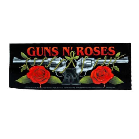 Guns N Roses Logo 4 guns n roses quot horizontal logo quot stickers decals horror