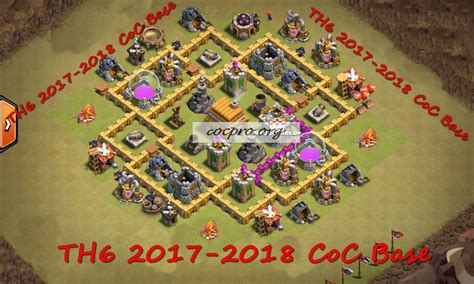 layout coc war base th6 best base town hall 6 top th6 war base coc th 6 2017