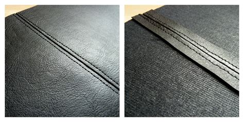 upholstery stitch types rock n roll style the basics of sewing faux leather seams