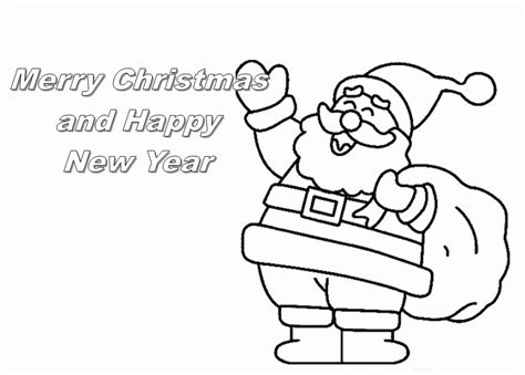 Merry Christmas Coloring Pages Free Coloring Home Free Merry Coloring Pages