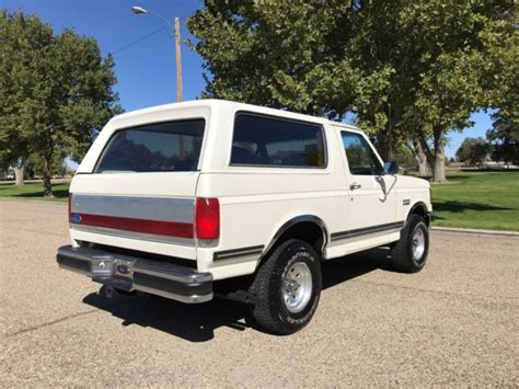 how cars run 1990 ford bronco regenerative braking 1990 ford bronco xlt 4x4 5 8l 351 v 8 automatic with only 95 000 actual miles