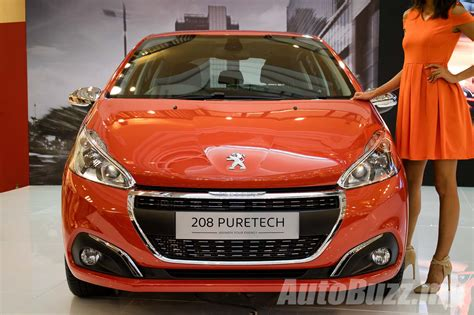 Upholstery Treatment 2017 Peugeot 208 Facelift Launched In Malaysia 1 2l Turbo