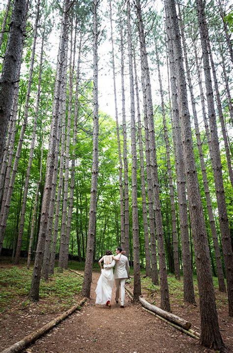 the roxbury barn wedding in the woods at the roxbury barn