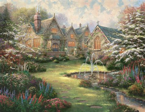 Beautiful Day Korean Coloring Book For Adults Limited garden manor paintings kinkade gallery