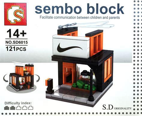 Sembo Block Shop Sd6011 sembo block s d originality high shop series sd6016 two stories sport supply shop