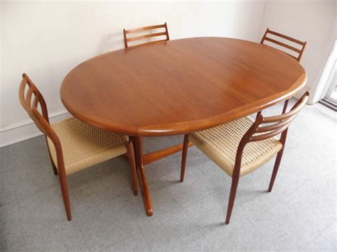 danish dining room furniture danish modern teak dining table home decorations idea