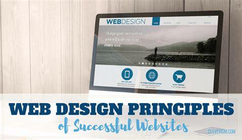 web layout principles web design principles of successful websites