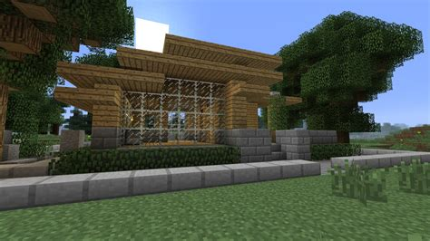 minecraft survival house minecraft tutorial hd modern survival house 2 minecraft project