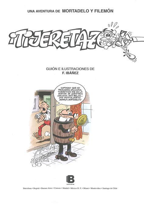 libro tijeretazo la pagina no oficial de mortadelo y filemon