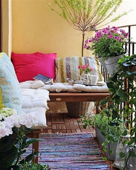 how to decorate a small balcony one decor