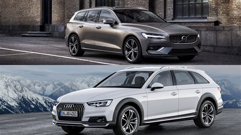 2019 Audi Allroad by 2019 Volvo V60 Vs 2018 Audi A4 Allroad A Visual