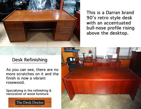 The Desk Doctor by Refinished Retro Desk The Desk Doctor