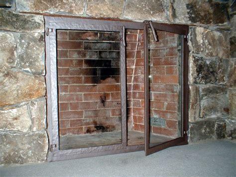 Ideas Fireplace Doors Fireplace Screens With Glass Doors Image Gallery Fireplace Screens With Glass Doors Ideas