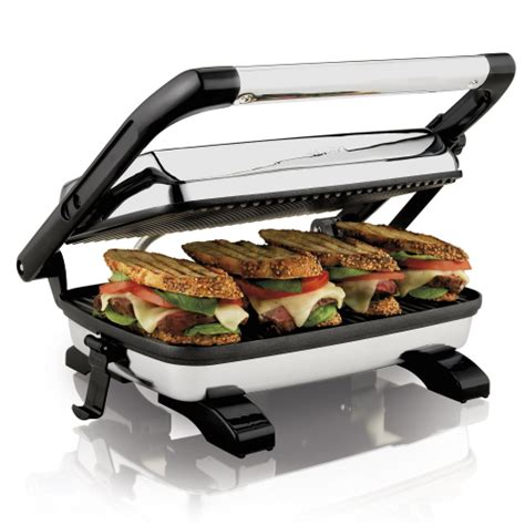 Toaster Sandwich panini press gourmet home grill toaster sandwich maker cafe style floating lid ebay