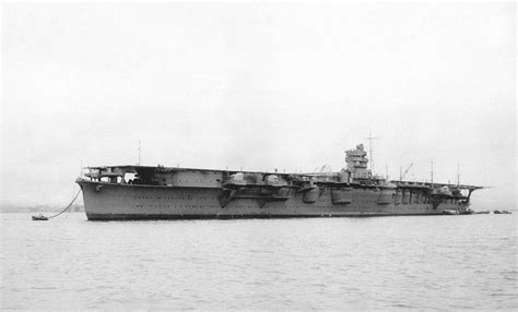 japanese aircraft carriers used in the attack of pearl imperial japanese navy carrier hiryu strategy history