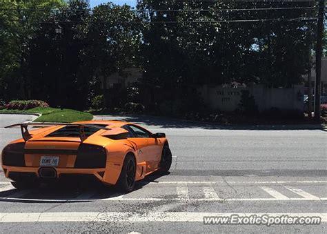 Lamborghini Ga Lamborghini Murcielago Spotted In Atlanta On 04