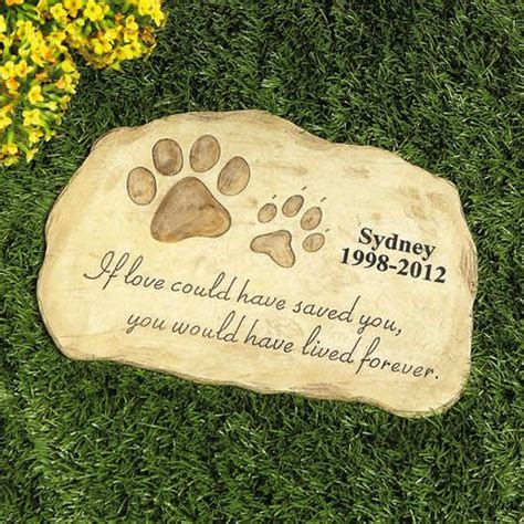 Pet Memorial Garden Stones by Pet Memorial Garden 26 99 For The Home