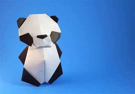 Origami Panda - origami pandas page 1 of 8 gilad s origami page
