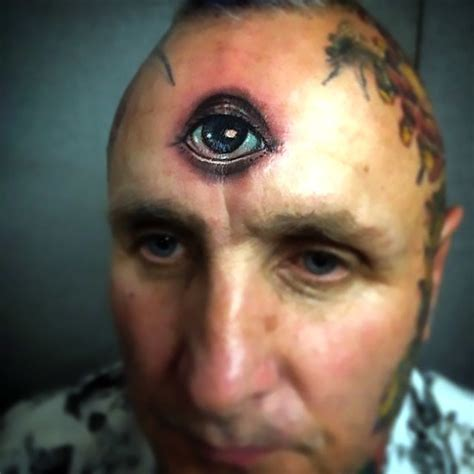 forehead tattoo third eye forehead idea