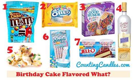 birthday cake flavor what 7 birthday cake flavored food and drinks counting